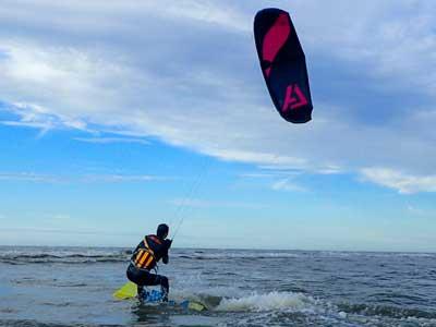 De Gevorderde kitesurfles in Zandvoort ga je alles leren over het kiteboard en de kite en varen natuurlijk met kitesurfen Kitesurfschool Zandvoort,